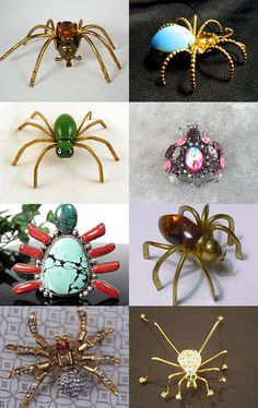I LOVE Spiders !! An EcoChic Treasury--Pinned with TreasuryPin.com