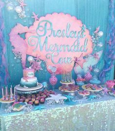 Great idea for a mermaid party