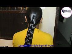 Indian Long Hair Braid, Braids For Long Hair, Heavy Hair, Muslim Culture, Rapunzel Hair, Long Hair Video, Oily Hair, Bun Hairstyles, Long Hair Styles