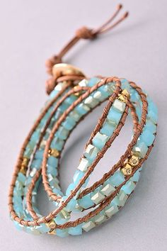 Handmade Wrap Bracelet (2 Colors)