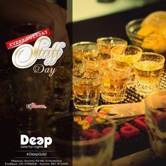 #DeepGold Mια ξεχωριστή βραδιά για το πιο ξεχωριστό κομμάτι του Deep, το προσωπικό μας, που θα βρίσκεται ανάμεσά σας! #StaffDay