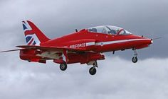 Pic of Red Arrow plane