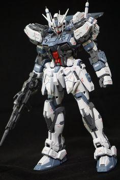 MG 1/100 GAT-X105b Aether Strike Gundam - Customized Build     Modeled by tannu