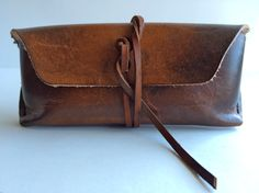 Draeger Leather sunglass case