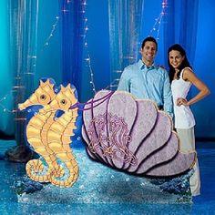 ATLANTIS CHARIOT STAND-IN * under the sea party decorations * mermaid * ocean    #Unbranded #VariousParties