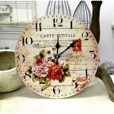 Zegar prowansalski Carte Postale, 36zł