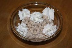 Mascarponés gesztenyekrém Coconut Flakes, Icing, Spices, Sweets, Cake, Food, Spice, Gummi Candy, Candy