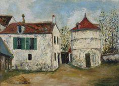 Maurice Utrillo, Ancien domaine de Gabrielle d'Estrées à Bezons (Val d'Oise)