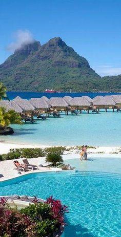 Bora Bora Pearl Beach Resort and Spa Top Bora Bora Resorts TBora Bora is a wonderful Tropical Island in French Polinesia in the Pacific. See all the r… – Honeymoon Bora Bora Resorts, Vacation Resorts, Vacation Places, Vacation Destinations, Dream Vacations, Vacation Spots, Places To Travel, Romantic Vacations, Italy Vacation