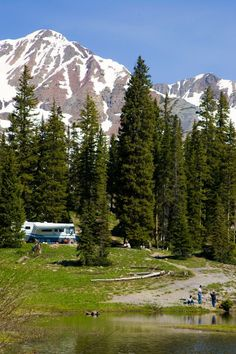 Camping in Colorado is the best Nothing like the combination of nature and mountains as your daily scenery.