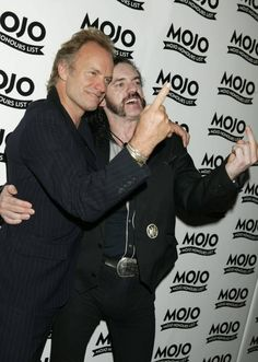 LEMMY AND STING