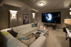 Highland Homes | Whitley Place | Media Room | Prosper, TX | Plan 294