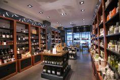 Resultado de imagen de imagenes tiendas gourmet de aceite de oliva
