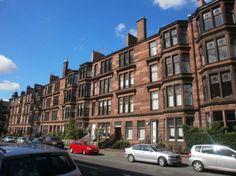 Tenements on Hyndland Road, West End of Glasgow