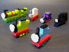 Thomas and friends by monsterbrick, via Flickr
