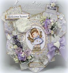 Cards made by Chantal: Welcome home heart.... - LHOSM #74 - Bingo grid