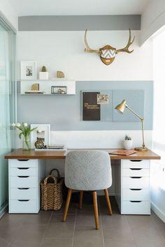 Adorable minimalistic office design