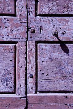 Siena Door by light detail, via Flickr