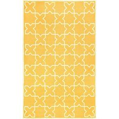 Liora Manne Ravella Moroccan Tile Rug - Yellow at HSN.com.