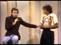 Robin Williams HBO Comedy Special 1978 encores with John Ritter. May both rest in peace and fill the heavens with laughter.
