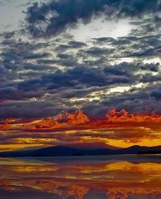 Taken at Lake Taupo, New Zealand. By Stewart Brinn of Sleaford