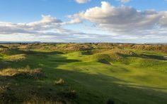 One of the Atlantic Links Championship Links Courses, Burnham & Berrow's hole (Geoff Ellis) Travel Around The World, Around The Worlds, Burnham, Golf Courses, England, Vacation, Golf Travel, Vacations, Holidays Music