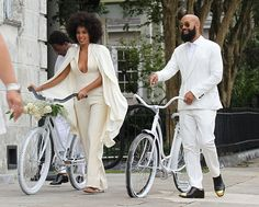 Solange Knowles + Alan Ferguson  #casamento #wedding #solangewedding #solangeknowles #noivinhasdeluxo  #bridal #weddingdress
