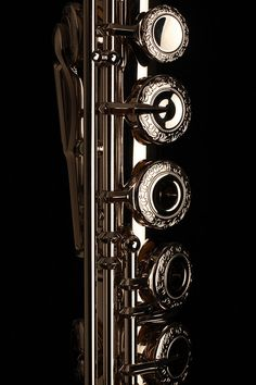 Elegant Platinum Clad keys of Muramatsu  flute - professional musical wind instruments for orchestras & flutists of world. Muramatsu platinum flutes smoothly produce rich tonal expression, pianissimo to fortissimo. Clear beautiful rich tone & sound projection. Bright luster never fades. Flutes were made in Japan starting 1923- only 20 amateur & professional flutists; continuing scientific research & prototypes. RESEARCH by DianaDee:)…