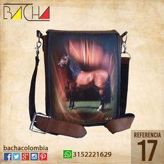 #Bolso Equino 17 #CUERO Con acolchado interno Grande 26x23x7cm Mediano 22x19x7cm