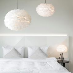 These VITA EOS feather light shades are stunning. Make an impact in any space with these handcrafted, goose feather lamp shades. Feather Light Shade, Feather Lamp, Light Shades, Ceiling Pendant, Ceiling Lights, Pendant Lighting, Pendant Lamps, Ceiling Rose, Ceiling Lamp