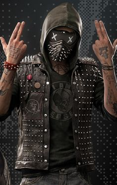 Wrench Watch Dogs 2 Wallpaper. http://anoncraft.com/wallpaper/wrench-watch-dogs-2-game-mask-85/