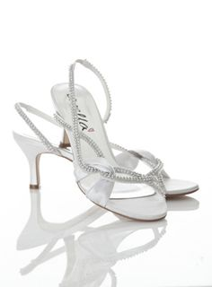 We specialise in beautiful footwear for your fairytale day. We celebrate the individuality and personality of each bride and aim to capture that throughout our range – knowing just how much the shoe says about the woman. Strappy Shoes, Shoes Heels, Bridal Shoes, Wedding Shoes, Medium Heel Shoes, Evening Shoes, Low Heels, Footwear, Bride