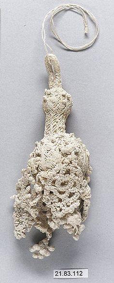 Tassel Date: 17th century Culture: Italian Medium: Linen Dimensions: L. 6 inches 15.2 cm Classification: Textiles-Trimmings