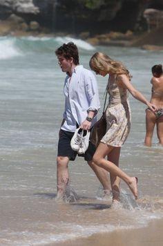Taylor Swift visiting Bondi Beach in Sydney Australia