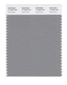 Pantone Smart Swatch 17-4402 Neutral Gray. As Light Summer wear far from your face. Tip for suits, cardigans, blazers, skirts, troussers, bags...