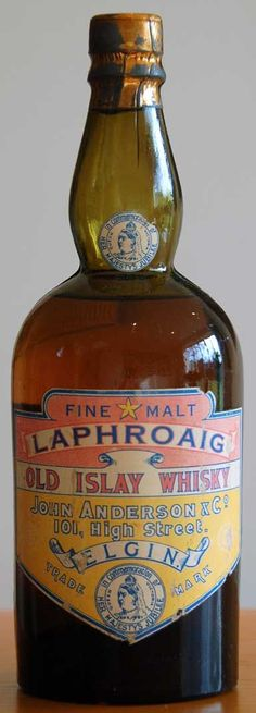 Laphroaig 1887 - single malt scotch whisky from Islay