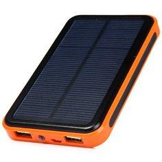 Solar Energy Powered 48000mAh External Battery