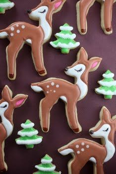 19 Christmas Sugar Cookie Recipes: Christmas Desserts – Captain Decor Check out all of these fun and festive sugar cookie designs! Which is your favorite? Cookies Cupcake, Fancy Cookies, Cute Cookies, Holiday Cookies, Crinkle Cookies, Cookies Soft, Pecan Cookies, Drop Cookies, Iced Cookies