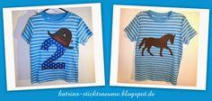 T-Shirt 2 & T-Shirt Pferd