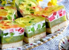 Polish Recipes, Homemade Cakes, Something Sweet, Fresh Rolls, Vanilla Cake, Jelly, Food And Drink, Cheese, Fruit