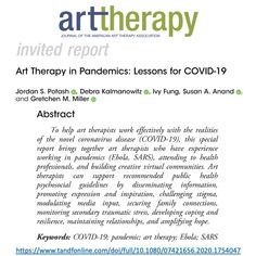To help art therapists work effectively with the realities of the novel coronavirus disease this special report brings together art therapists who have experience working in pandemics (. Virtual Community, Interpersonal Relationship, Community Boards, Social Media Site, Art Therapy, American Art, Building, Health, Revolution