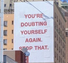 Some Sunday motivation 🙌 Stop doubting yourself and book the flights! Now Quotes, Words Quotes, Quotes To Live By, Life Quotes, Sayings, Wall Quotes, Positive Quotes, Motivational Quotes, Inspirational Quotes