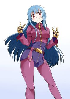 Kula Diamond - The King of Fighters - Image - Zerochan Anime Image Board Kula Diamond, Anime Blue Hair, Snk King Of Fighters, Moba Legends, Character Art, Character Design, Mobile Legend Wallpaper, Naruto Pictures, One Piece Manga