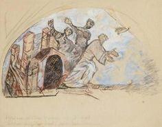 Copie d'une peinture romane by Max Jacob   Blouin Art Sales Index