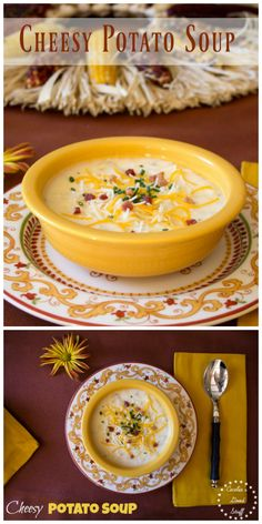 Cheesy Potato Soup R