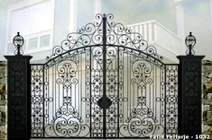 Wrought iron is the work of Fer et Art, a company with the quality of France. We provide wrought iron gate, wrought iron garden gate and wrought iron fence for Europe, Middle East and Africa.