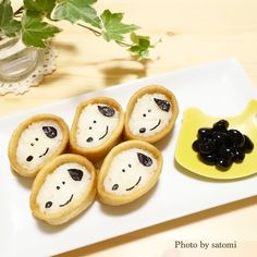 スヌーピーおいなりさん♡ | satomiさんのお料理