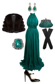 Linda visits the White House by giagiagia on Polyvore featuring Alexander McQueen, Harrods, Gianvito Rossi and Dents