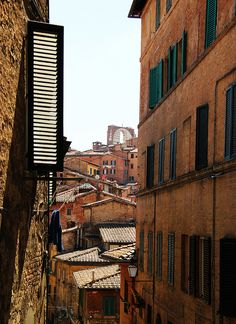 Siena by ToИio The Places Youll Go, Great Places, Beautiful Places, Places To Visit, Things To Do In Italy, Living In Italy, Siena Italy, Italy Travel Tips, Italian Beauty