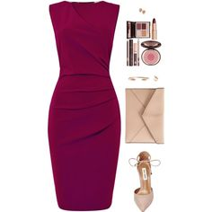 A fashion look from November 2016 featuring Pied a Terre dresses, Steve Madden pumps and Rebecca Minkoff clutches. Browse and shop related looks.